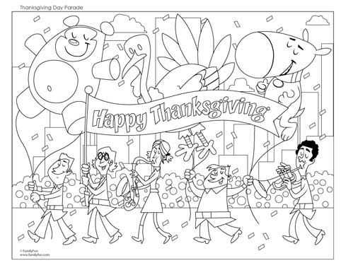 Happy Thanksgiving Holiday Happy Thanksgiving Holiday Coloring Pages