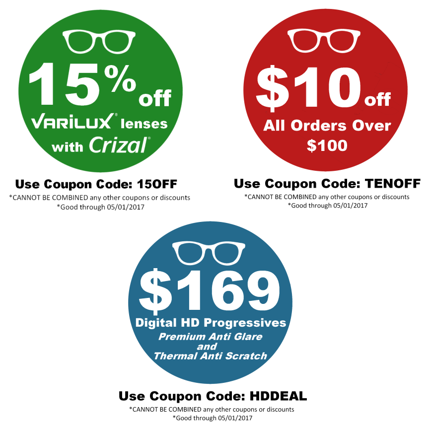 Check out our new coupons now available through the end of the month ...
