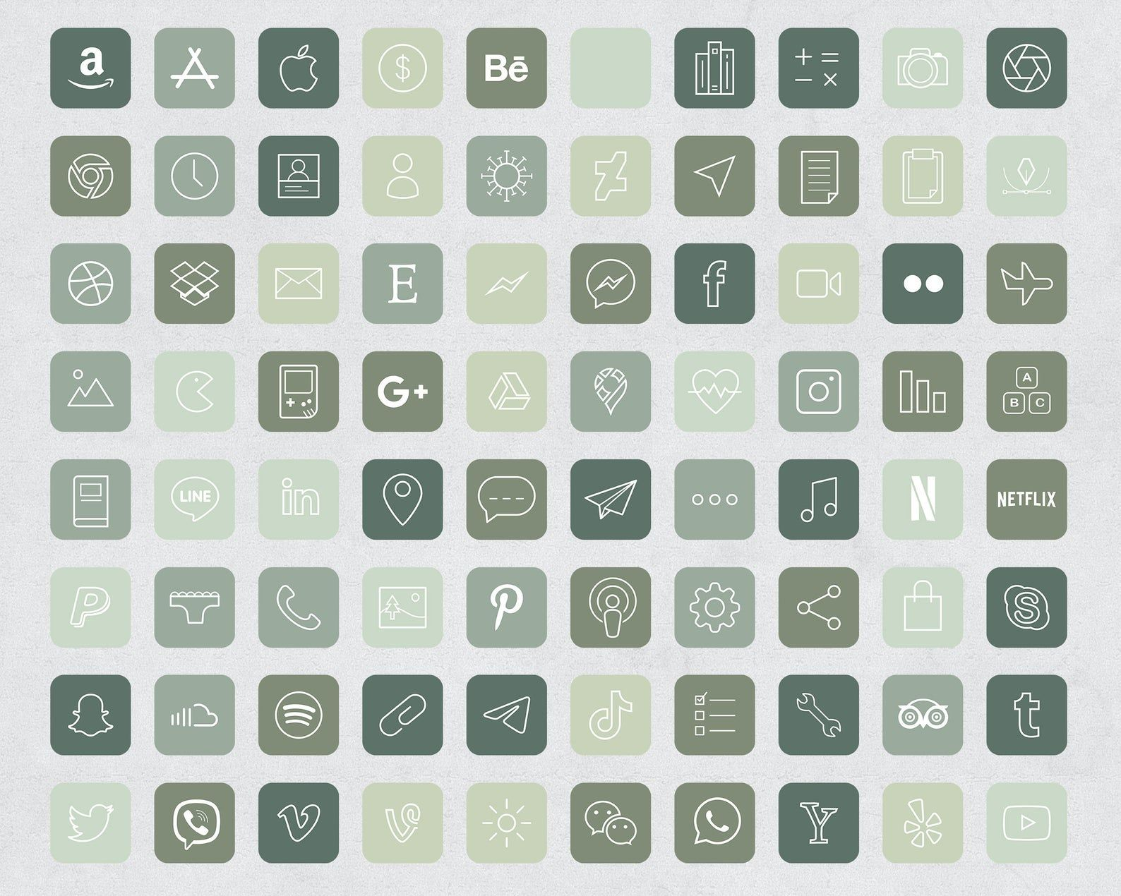 90 Forest Green Aesthetic Ios 14 App Icons Social Media Icons Ios14 Iphone Icon App Pack Minimalist Green Icons Green Aesthetic Icon Iphone Wallpaper App App Icon Iphone Icon