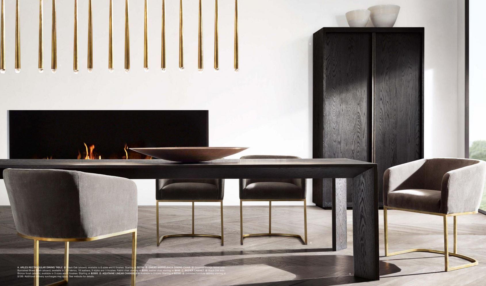Pin By Petra Zachveja On Rh Restoration Hardware Modern Dining Room Dining Room Design Home Decor [ 996 x 1690 Pixel ]