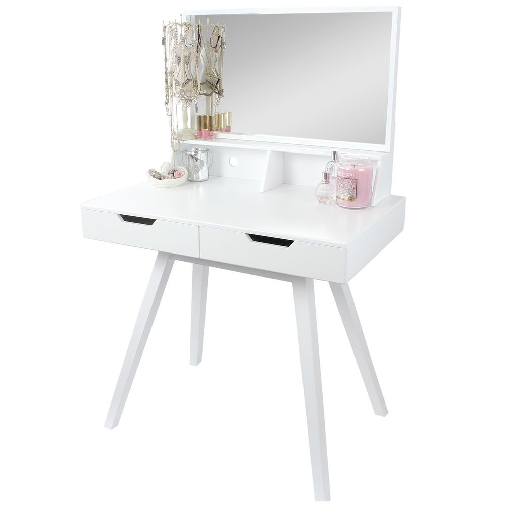 Dressing table with mirror hartleys white dressing table makeupjewellery storage dresser
