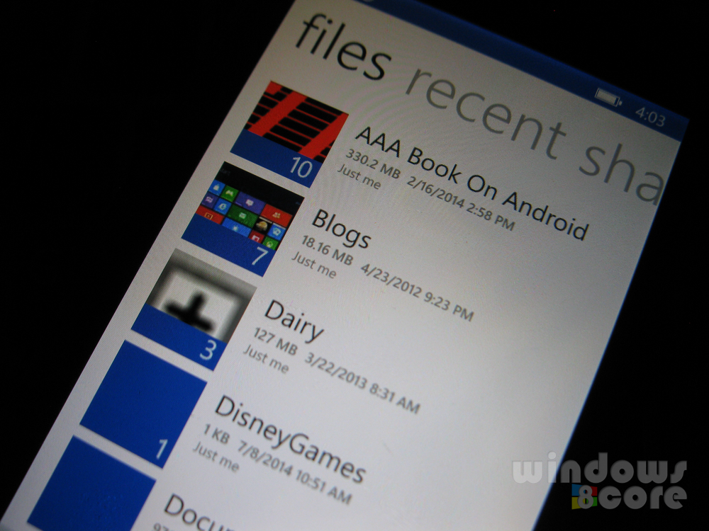 OneDrive app for Windows Phone 8.1 finally updated with