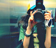 Inspiring picture camera, cute, fashion, girl, nikon, photography. Resolution: 400x327. Find the picture to your taste!