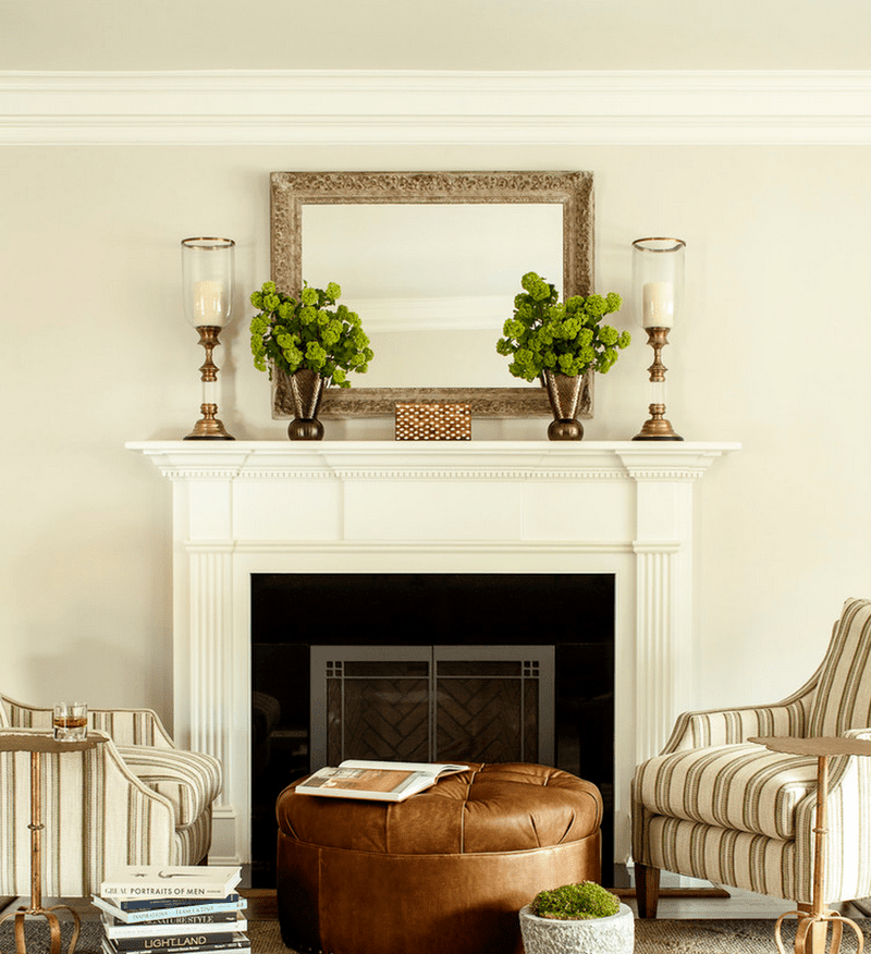 25 Mantel Decor Ideas For All Seasons Fireplace Mantle Decor Fireplace Mantel Decor Traditional Fireplace Mantel