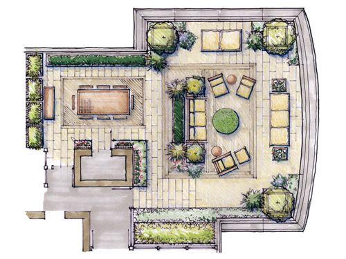 Landscape Architects Penthouse Garden Landscape Architect Garden Design