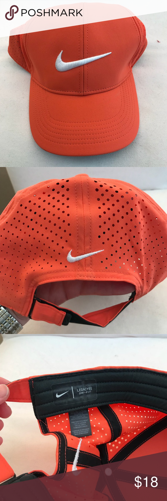Nike Legacy 91 Perforated Adjustable Golf Hat The Nike Legacy 91 Perforated  Adjustable Golf Hat in 6a9aad290c94