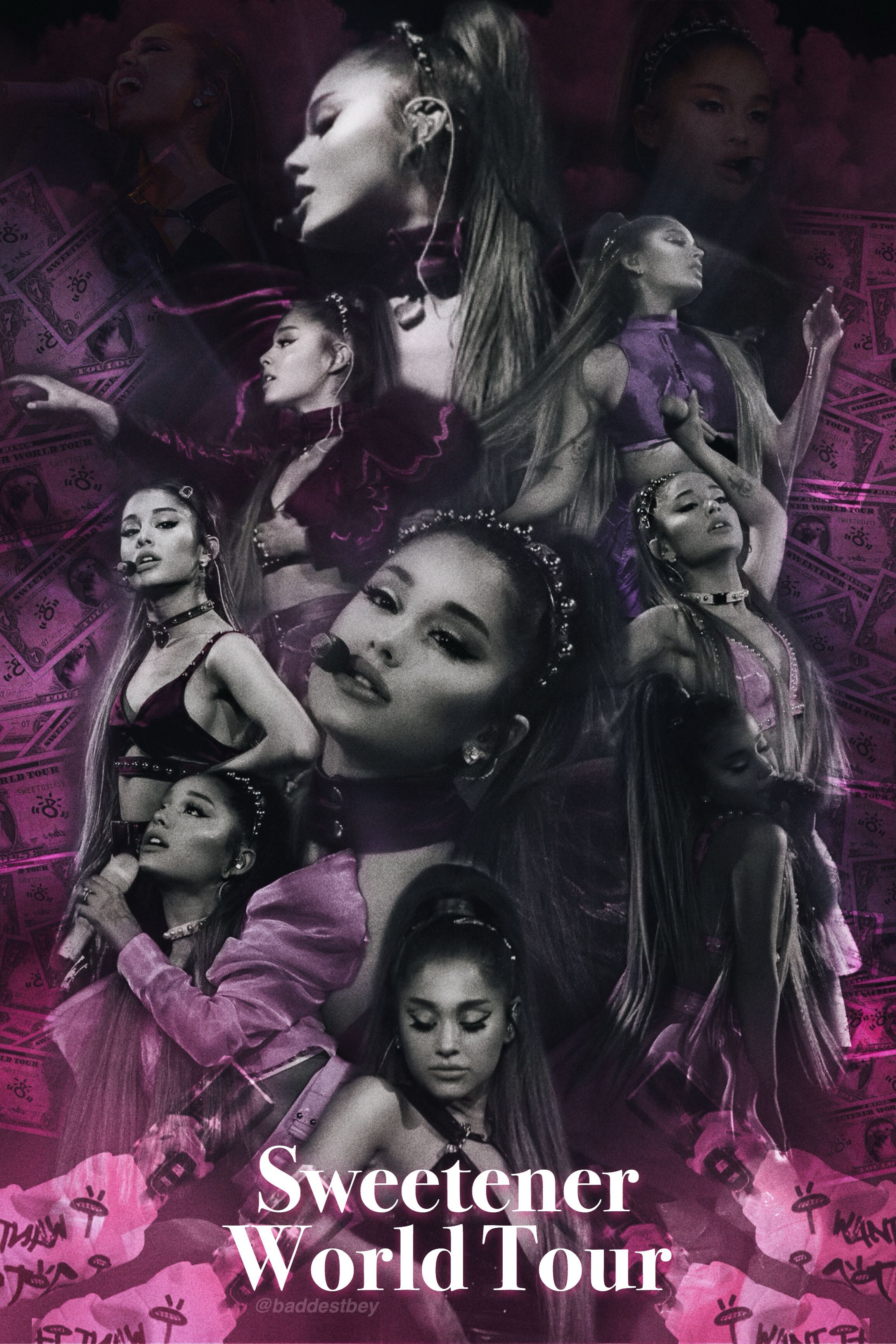 Ariana Grande Wallpaper - sweetener world tour #arianagrande -   - #ariana #arianagrande #grande #sweetener #tour #wallpaper #World