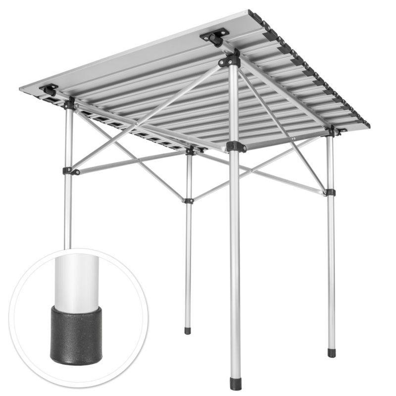 Aluminium Campingtisch Rolltisch Klapptisch Falttisch Gartentisch Klappbar Mesa Plegable Plegables Mesas