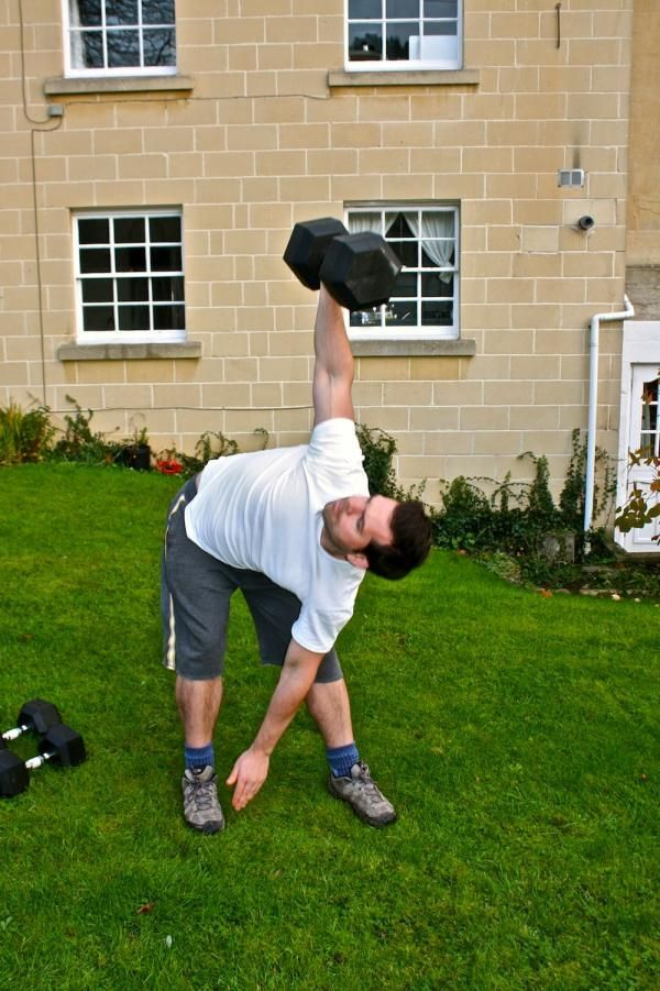 5 Best Dumbbell Exercises To Get Strong (And Gather a Crowd) #dumbbellexercises Chances are you've got some great dumbbells and you use them regularly but fall into the same old exercises and routines. Here are my five favorite movements for getting strong in new ways. #dumbbellexercises