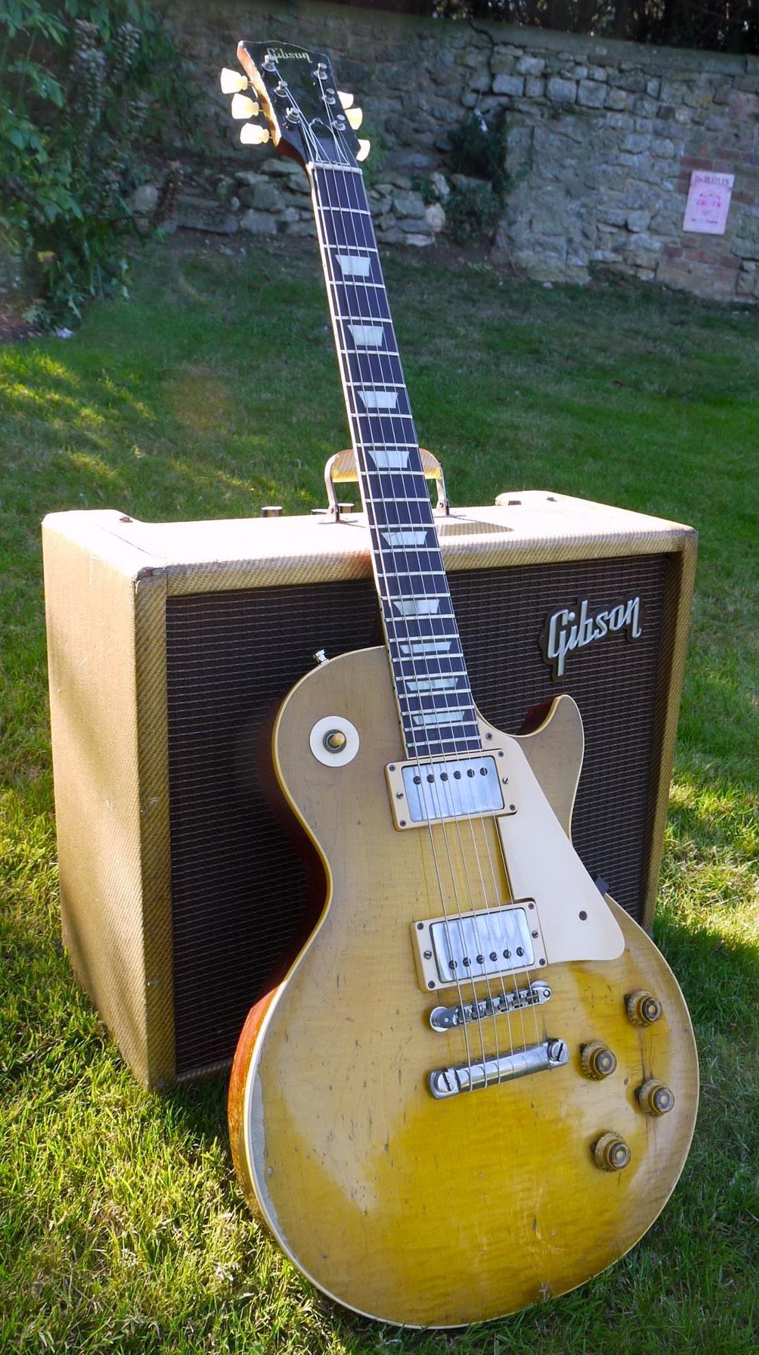 Bernie Marsdens 1959 Gibson Les Paul Standard The Beast Guitar Les Paul Guitars Cheap Electric Guitar
