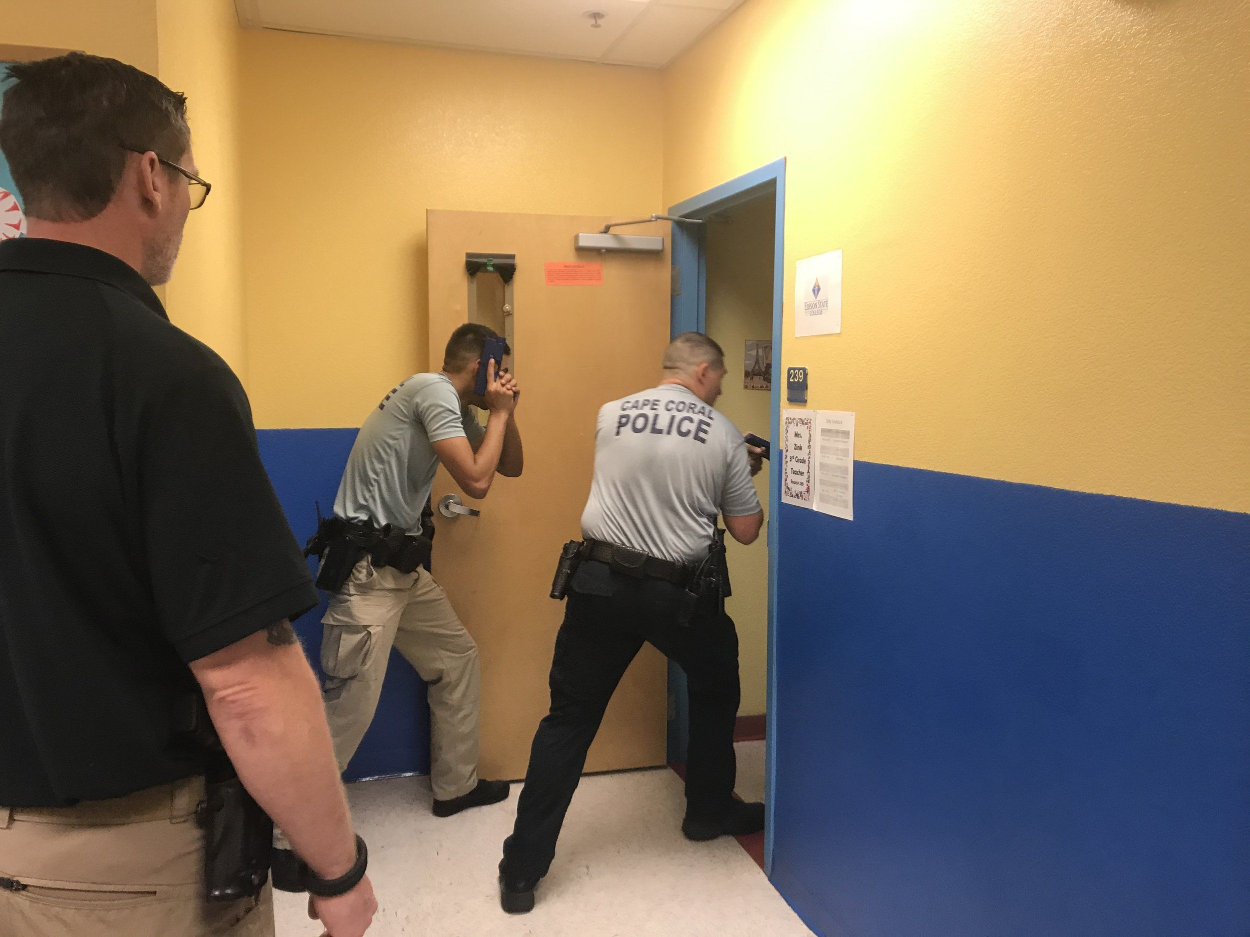 Training For Building Clearing And Active Shooter