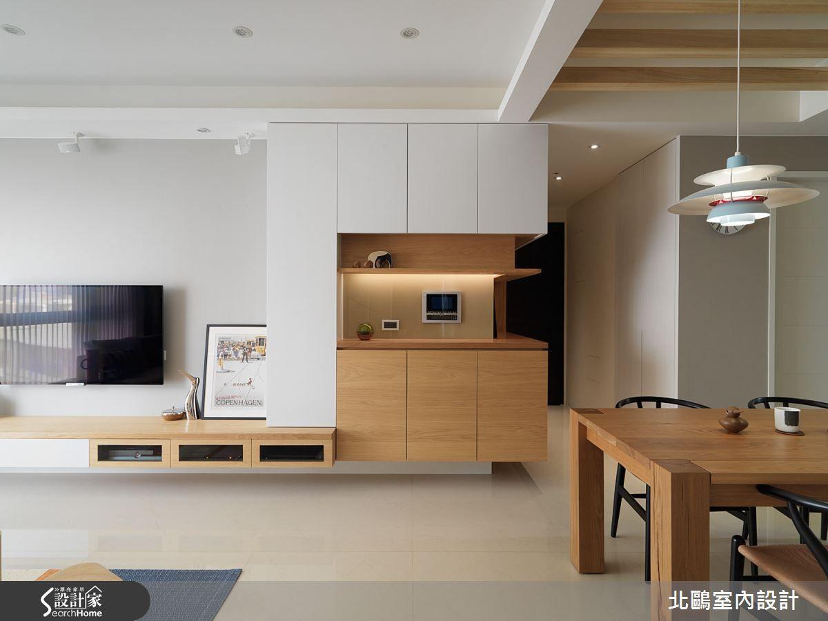 北鷗室內設計 王公瑜 北歐風 | 設計家 Searchome | tv wall | Pinterest