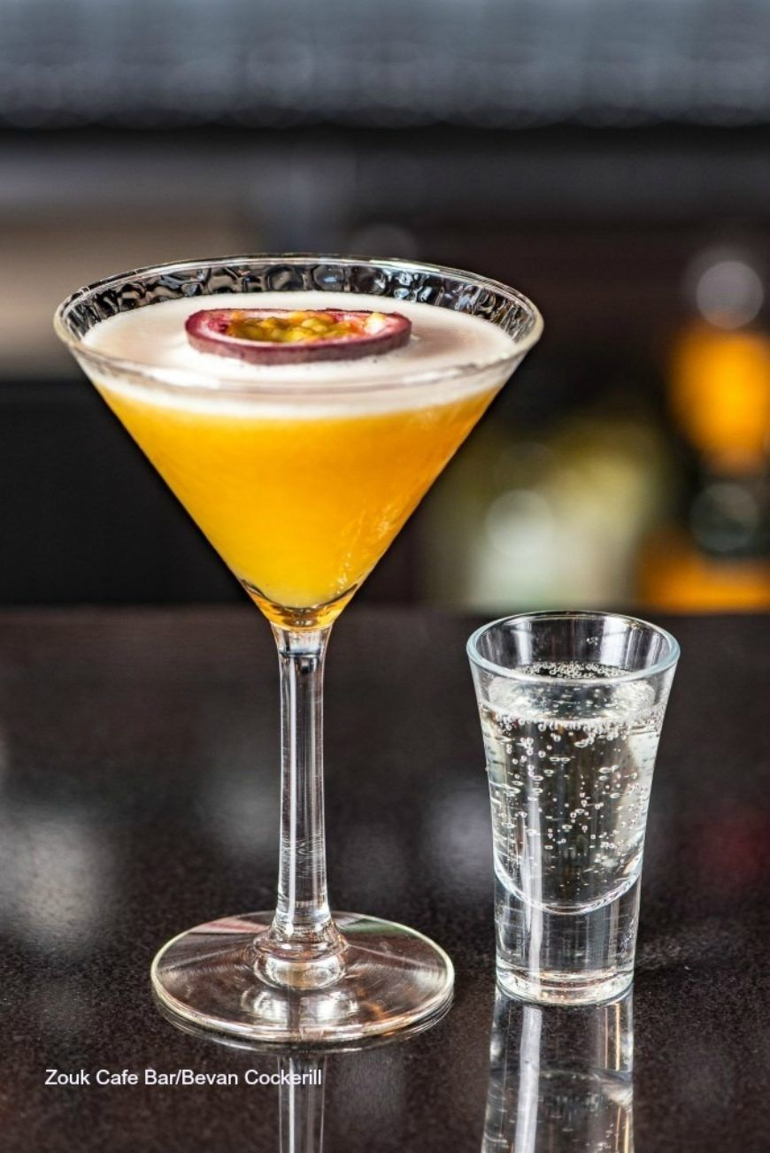 Pornstar cocktail drink