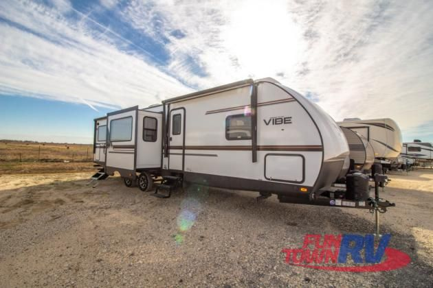 New 2019 Forest River Rv Vibe 33rk Travel Trailer At Fun Town Rv
