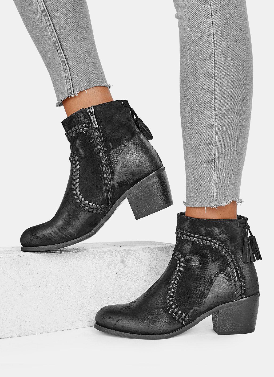 Czarne Botki Swindon Jenny Fairy W Sklepie Deezee Pl Boots Ankle Boot Shoes