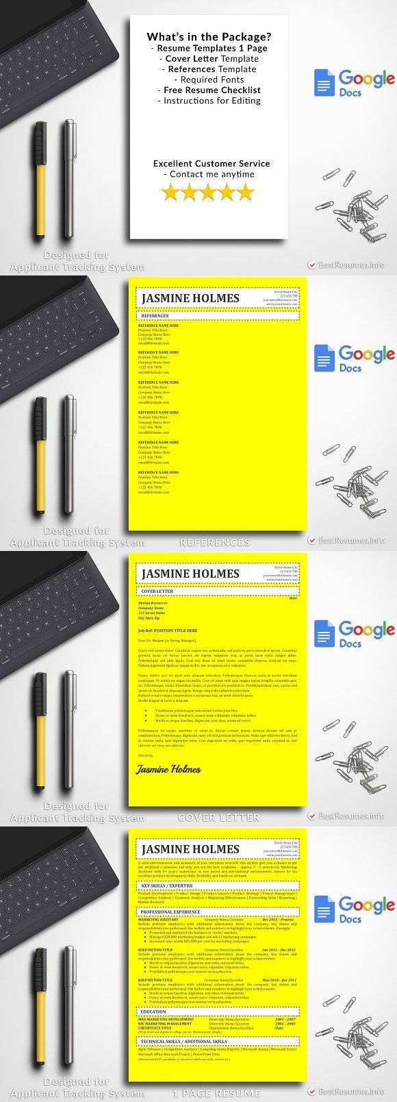 Simple Resume Template Google Docs Simple resume