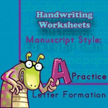 Printable Activities 4 Handwriting Manuscript Style