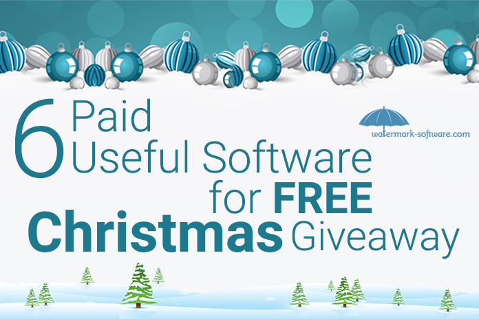 Christmas software giveaways