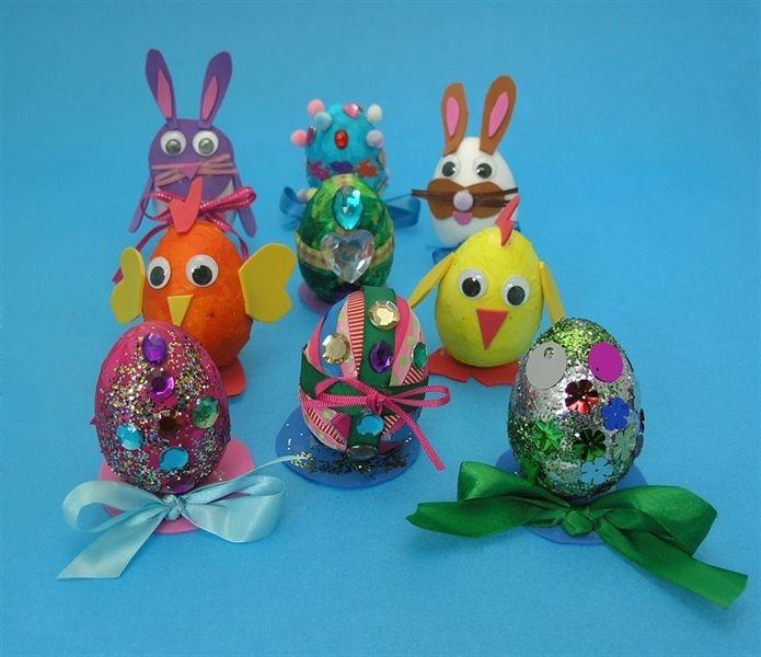 Polystyrene Easter Egg Decorating Ideas Valoblogi Com