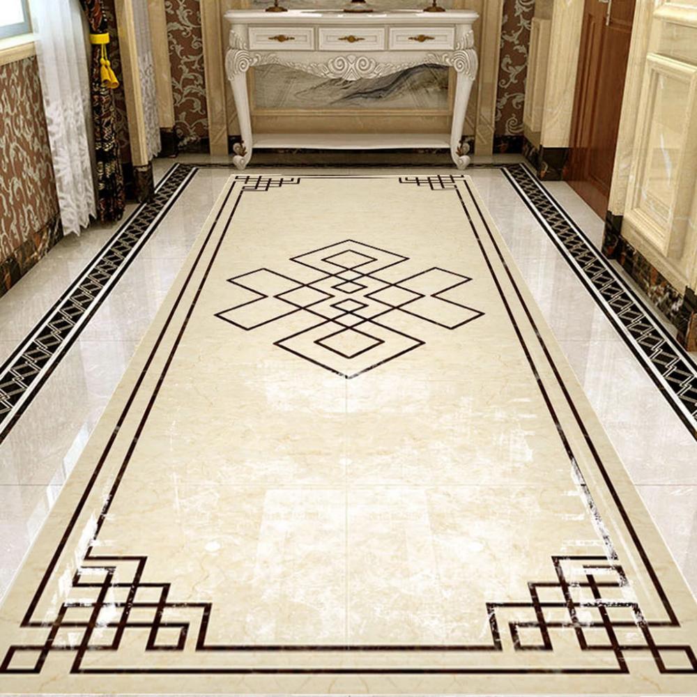 Customize Floor Mural Marble Floor Pattern Floor Tile Design Luxury Marble Flooring