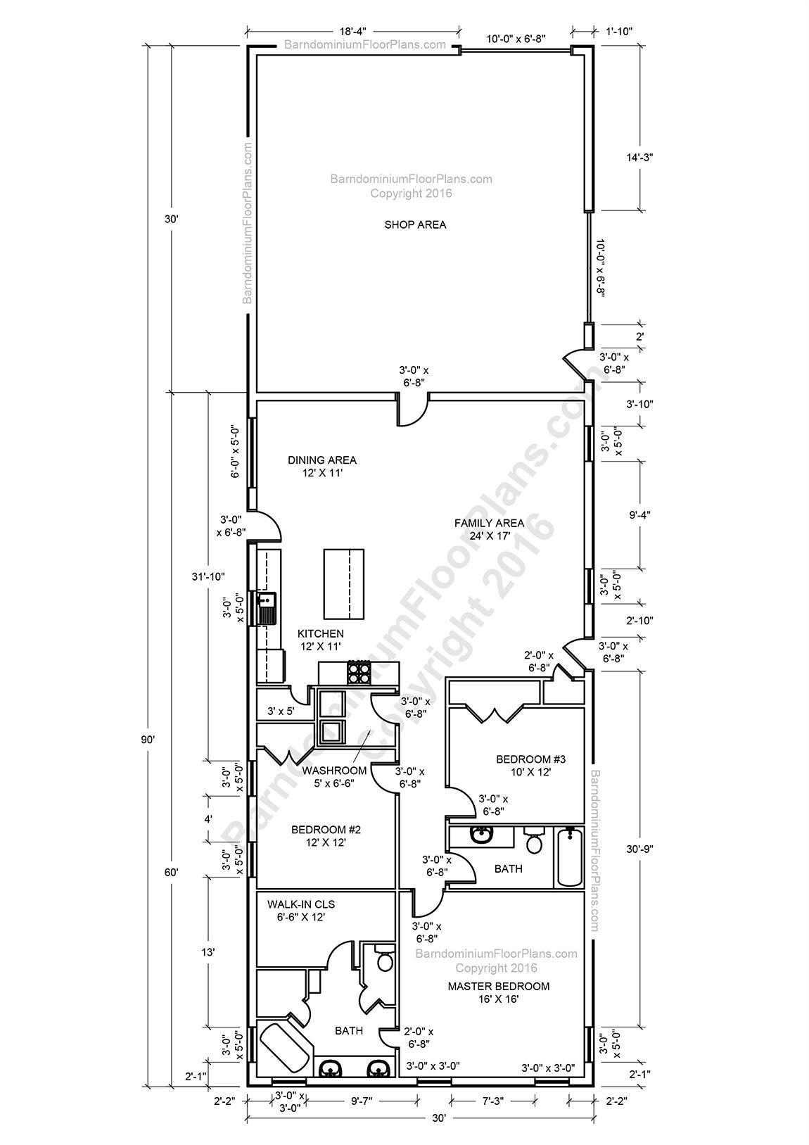 medium resolution of barndominium floor plans 2 story 4 bedroom with shop barndominium floor plans cost open concept small with garage metal buildings barn houses