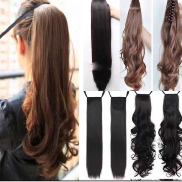 Wavy Long Binding Ponytail Hair Extension Boutique Clip In