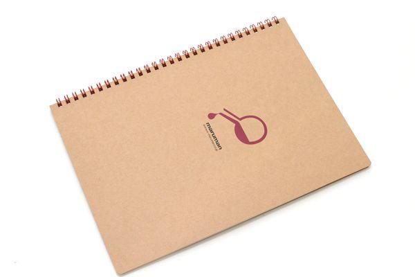 "Maruman Token Composition Book - B5 (6.9"" X 9.8"") - 7 mm Rule + Divisions - 31 Lines X 40 Sheets - Experiment Token - MARUMAN N806-10"