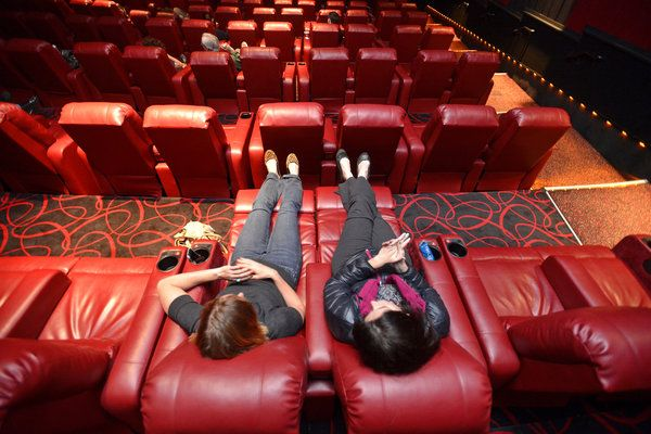 The Screen Is Silver But The Seats Are Gold Movie Theater With