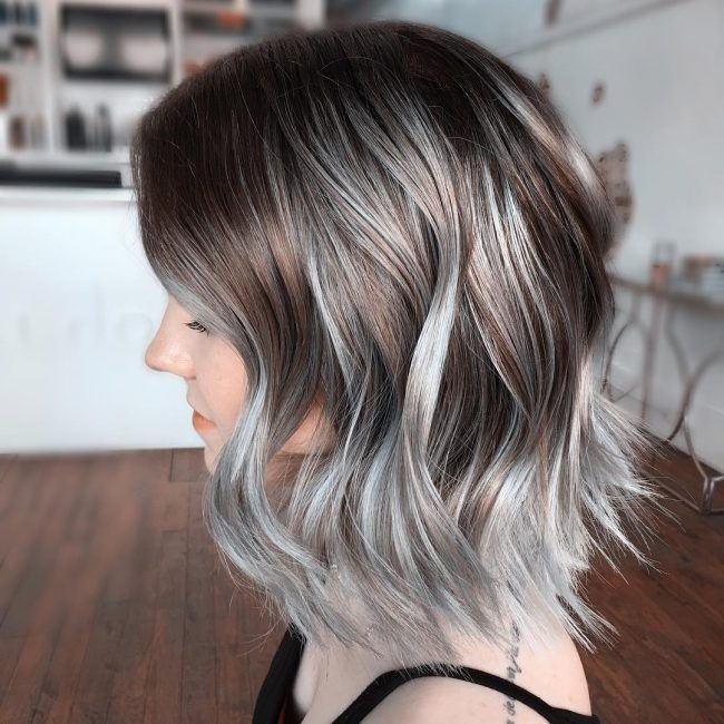 hair style for black girls silver ombre grey ombre hair is the new color the 4801 | c6f29b9fbd442b359dd9c4801c71986d