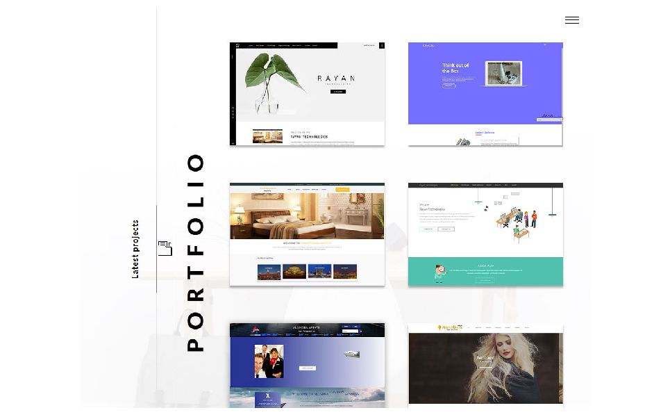freelancer web designer responsive muse template design