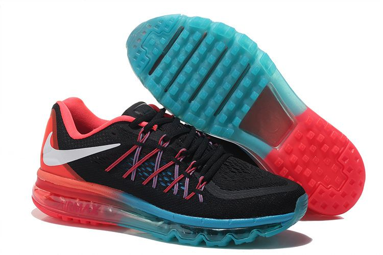 Nike Air Max 2015 Women BlackBlueRed
