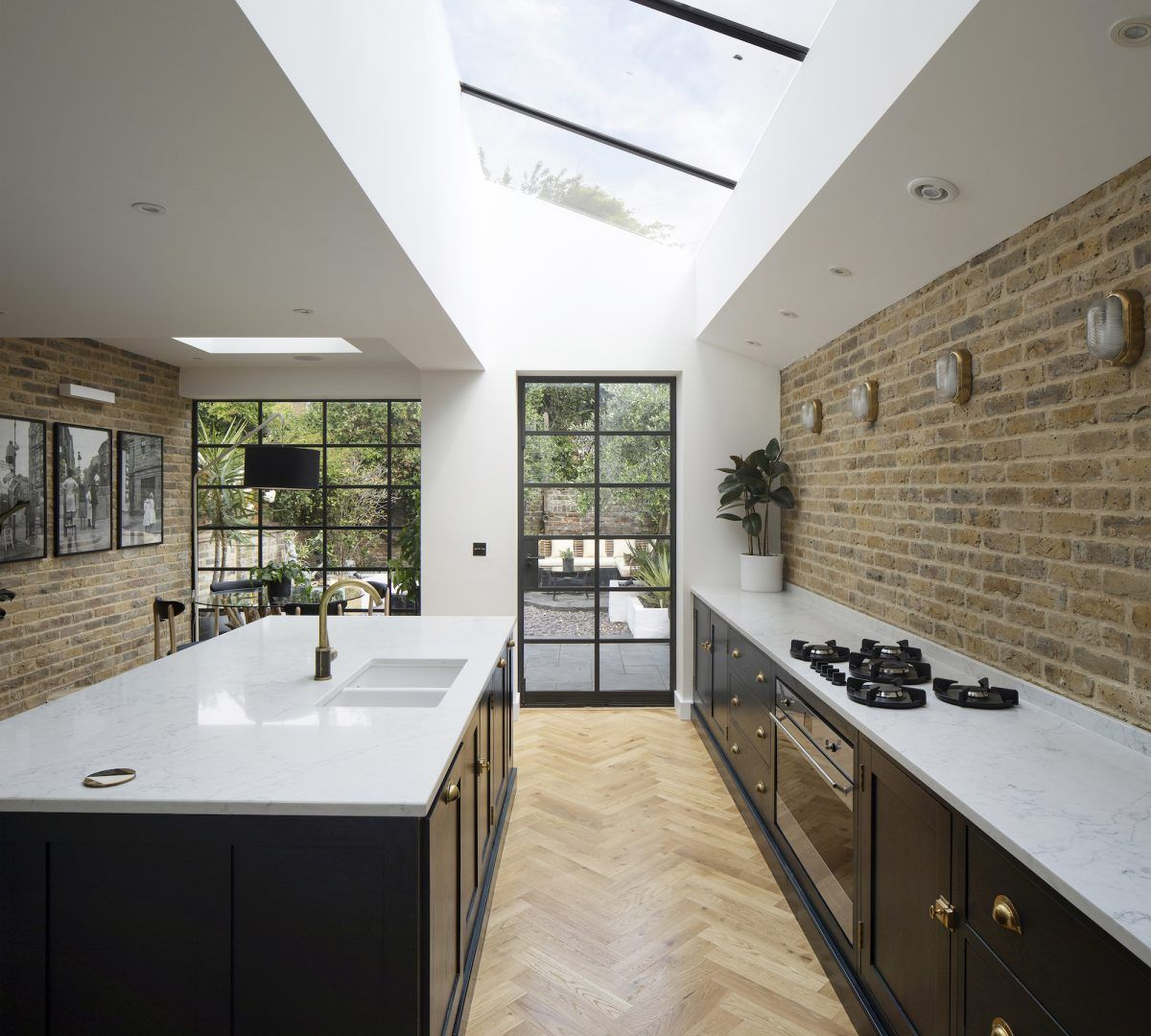 Woody London N16 Quirky Contemporary With Images Small House Renovation Victorian