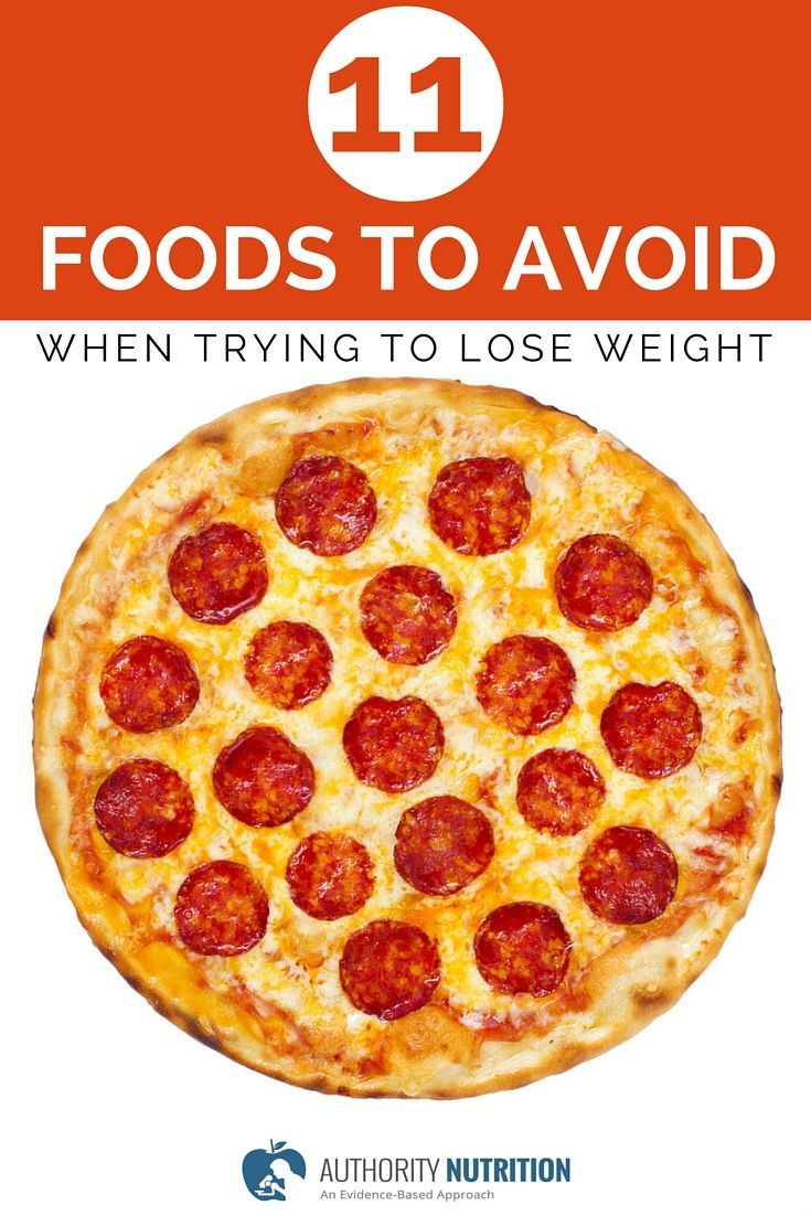 Some foods are proven to help you lose weight, while others make you gain.  Here are 11 foods to avoid when trying to lose weight: ...