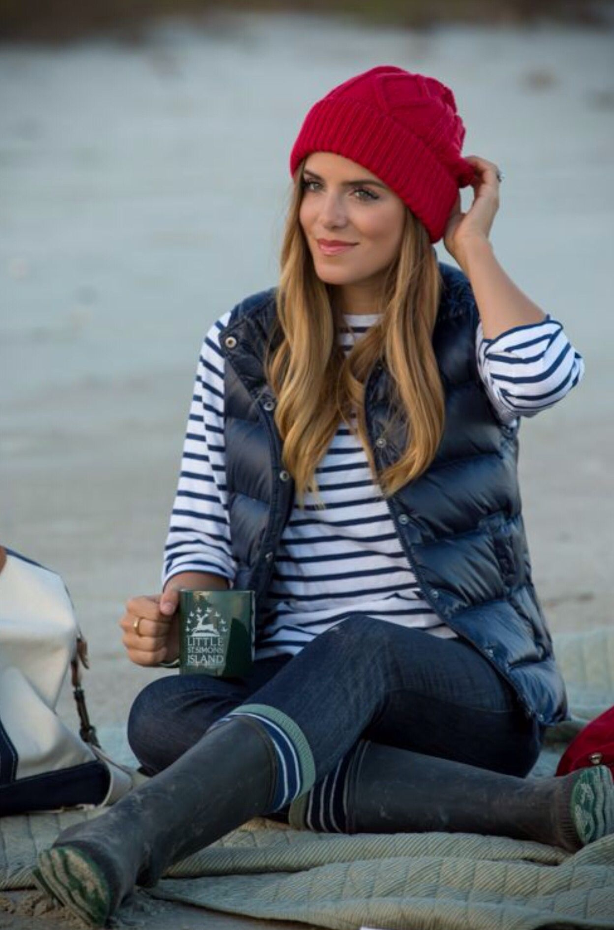 Gilet Looks for the Perfect Winter Fashion  Outdoors Socks and