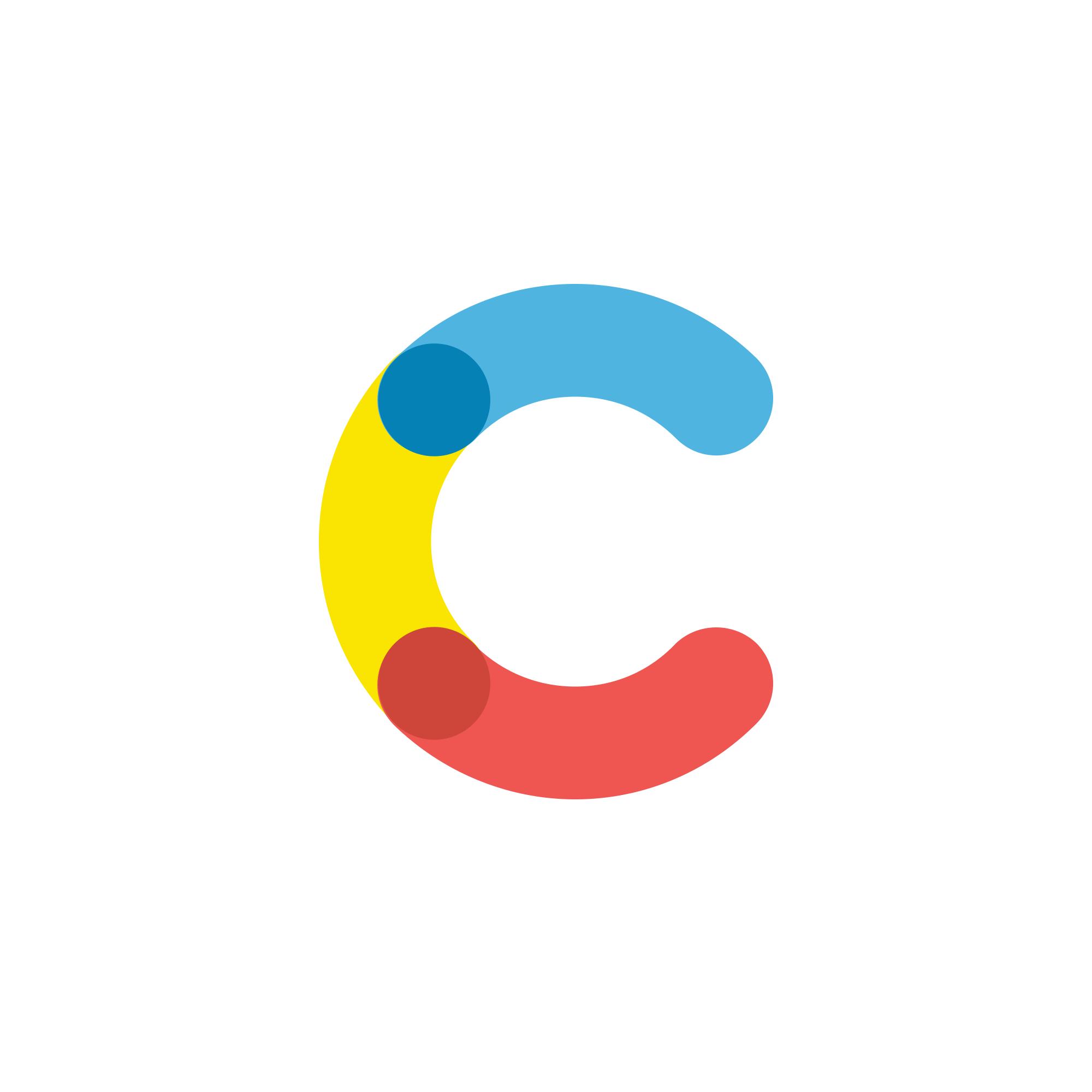 Contentful Logo Colorful Logo Design Monogram Logo Design Letter Logo Design