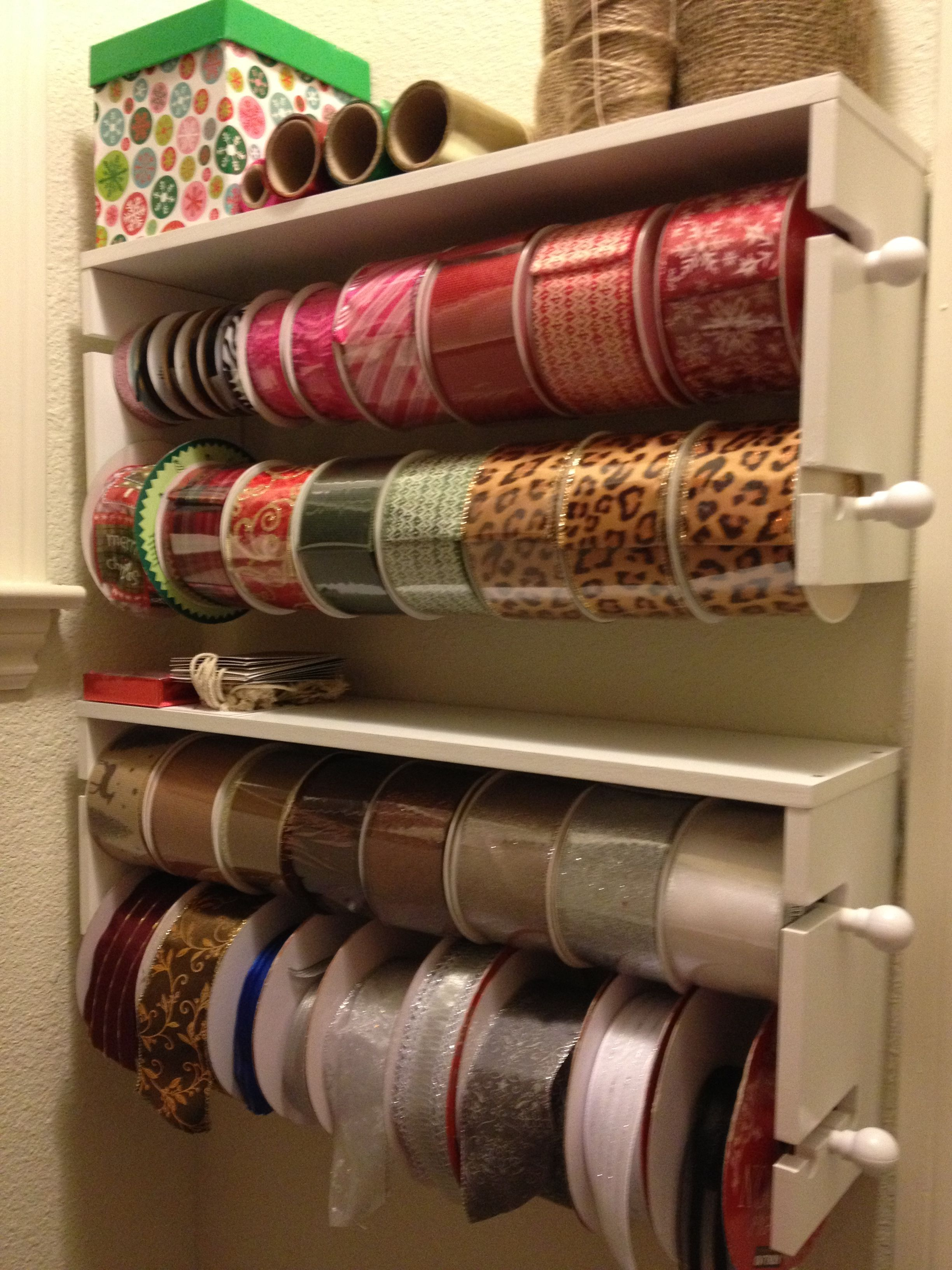 Ribbon Holders From Michaels With Coupon Only 12 Craft Room