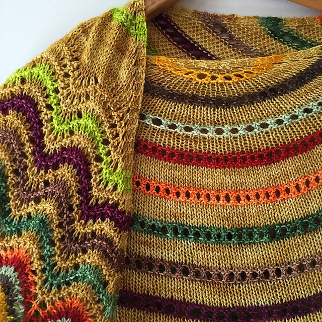 Ravelry: Audrey Shawl pattern by Christelle BAGEA | Stricken ...