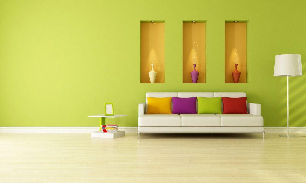 Green, yellow, purple, red, pillows, vases, home decor, spotlight on ...