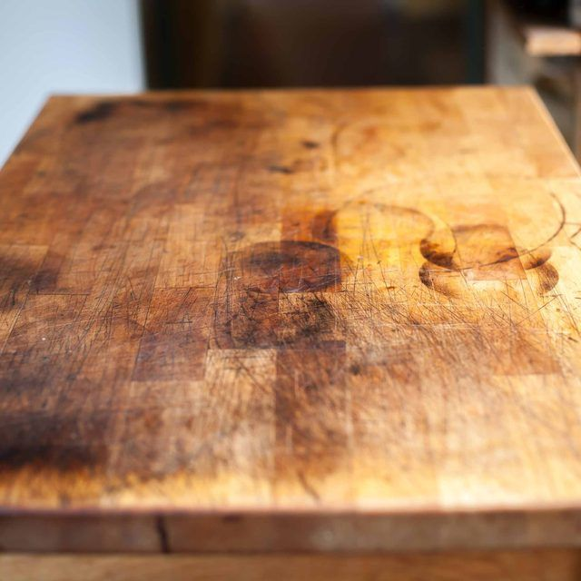 How To Refinish A Butcher Block Butcher Block Wood Chopping