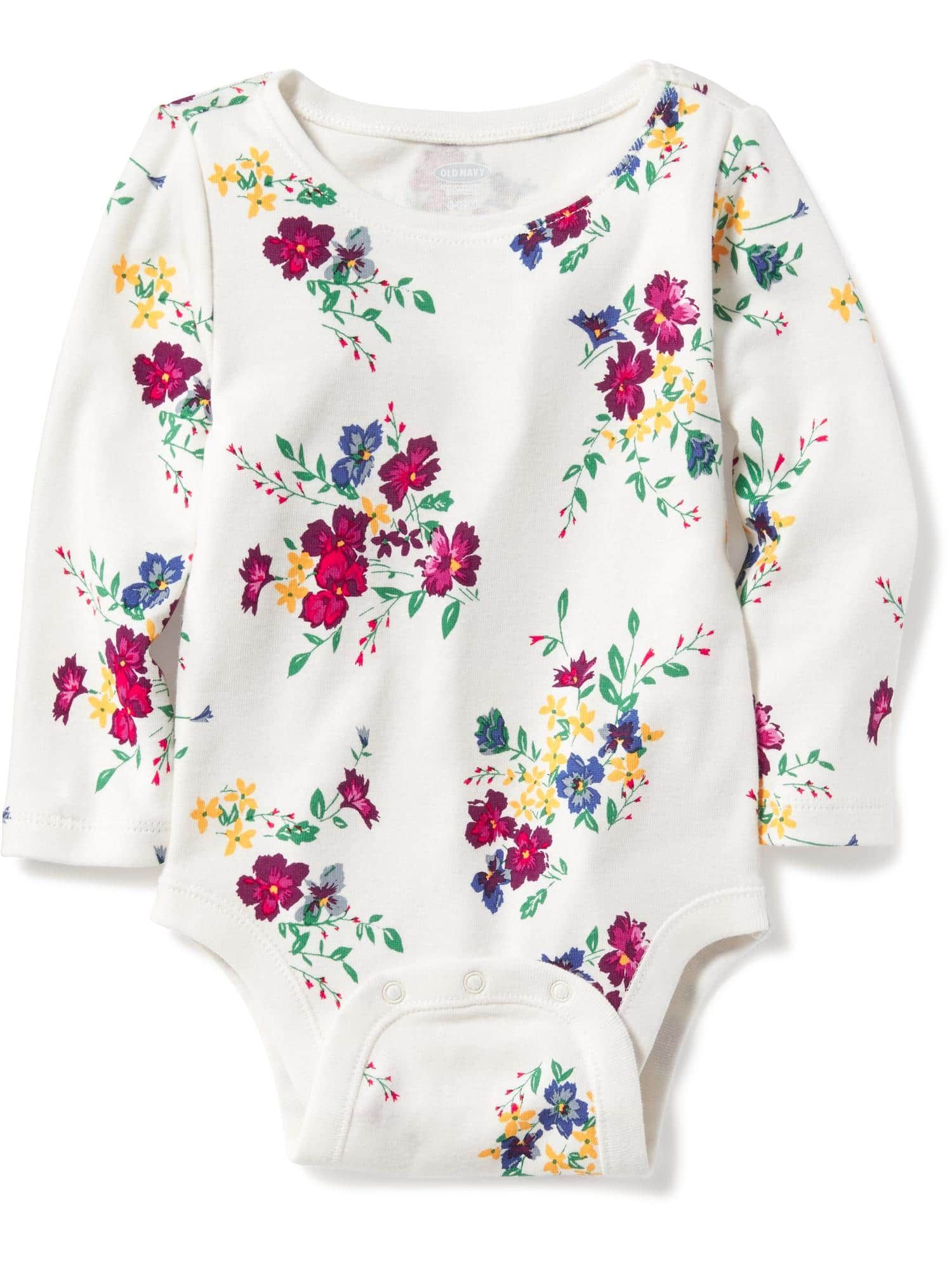 Patterned Bodysuit for Baby Old Navy Ropa Ni±a