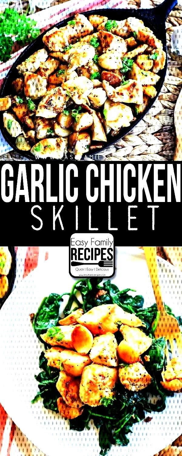 Garlic Chicken Bites are TO-DIE-FOR! They are quick and easy to make and CRAZY DELICIOUS! ThiThese