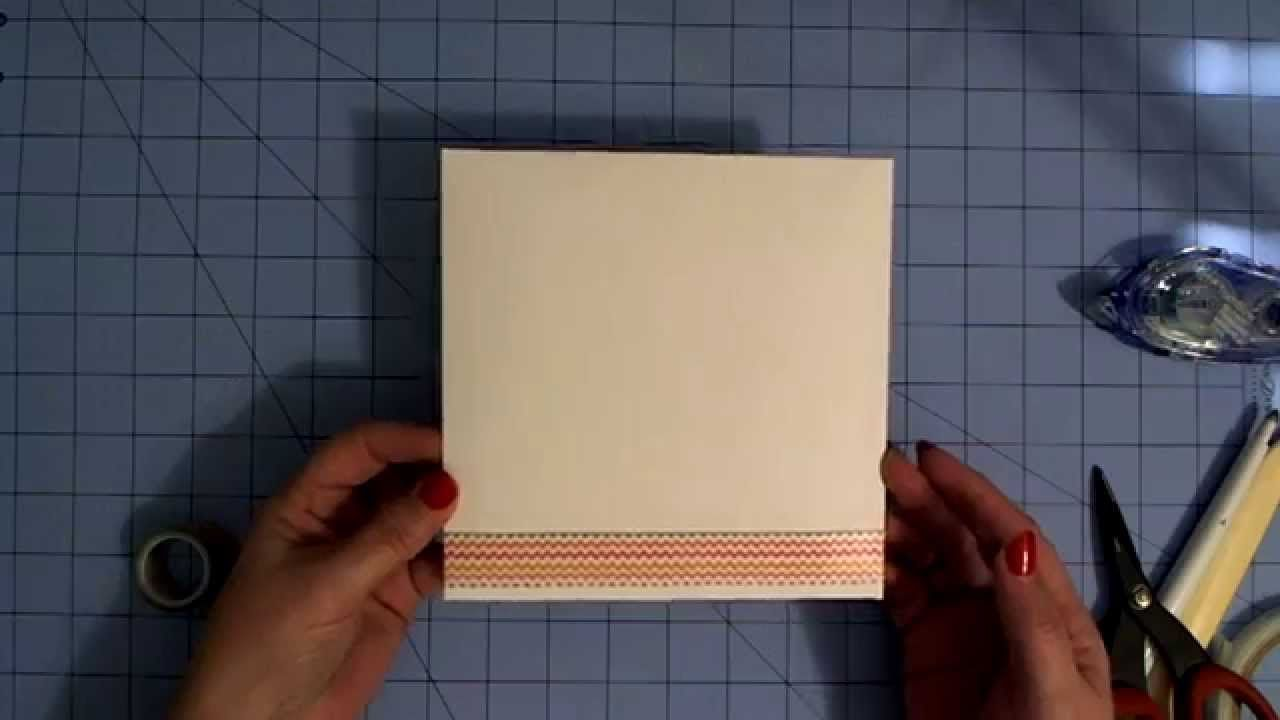 """""""How to"""" video on assembling an envelope made in Cricut Design Space for Debbie ONeal's Box Card"""