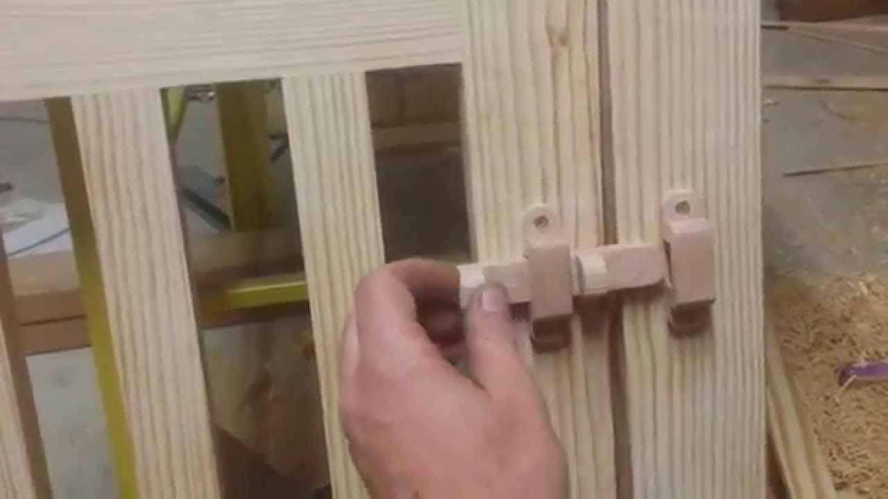 Image Result For Simple Wooden Homemade Screen Door Lock Latch Diy Screen Door Diy Door Wooden Hinges