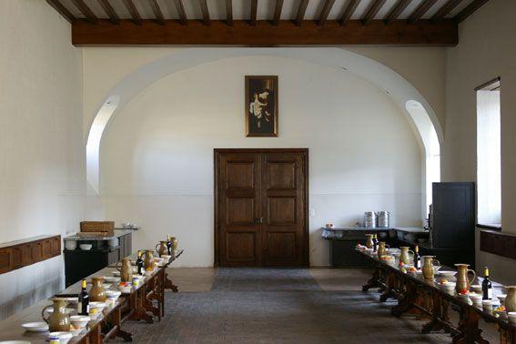 Abbaye Notre Dame de Sept-Fons de l'Ordre Cistercien de la Stricte Observance dit Trappiste fondée en 1132 #abbaye #religion #moines #cistercien #eglise