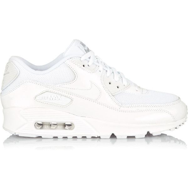 Nike Air Max 90 Premium Leather And Mesh Sneakers (3,365