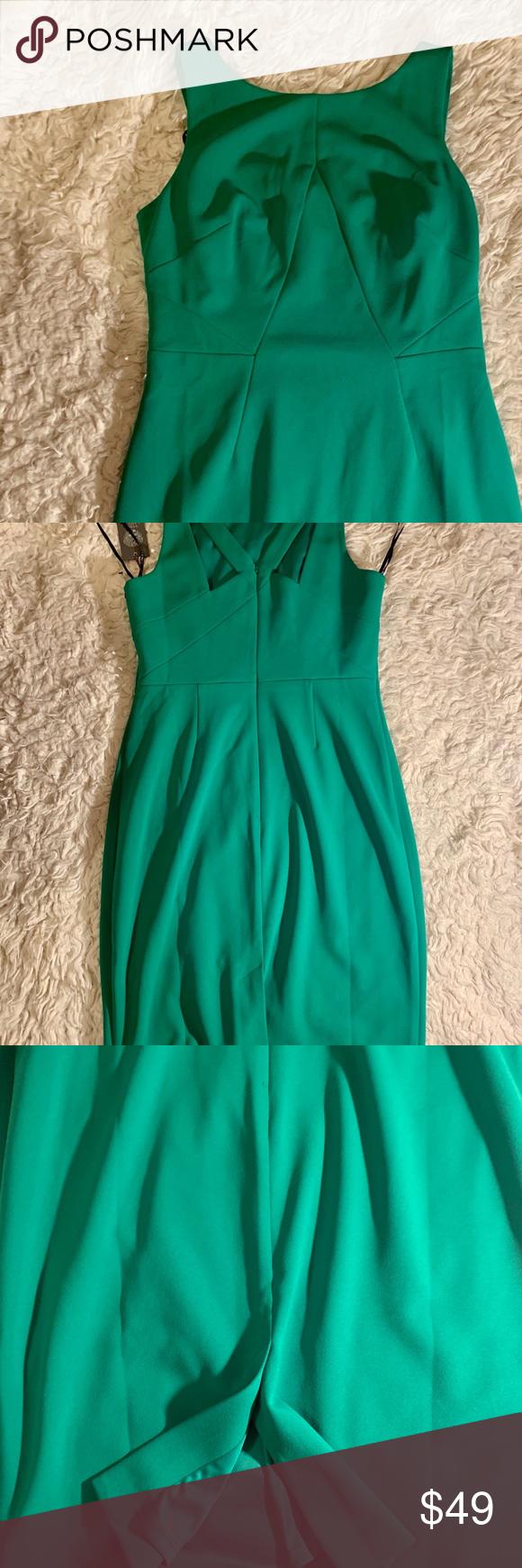 Vince Camuto Green Dress Green Dress Dresses Clothes Design [ 1740 x 580 Pixel ]
