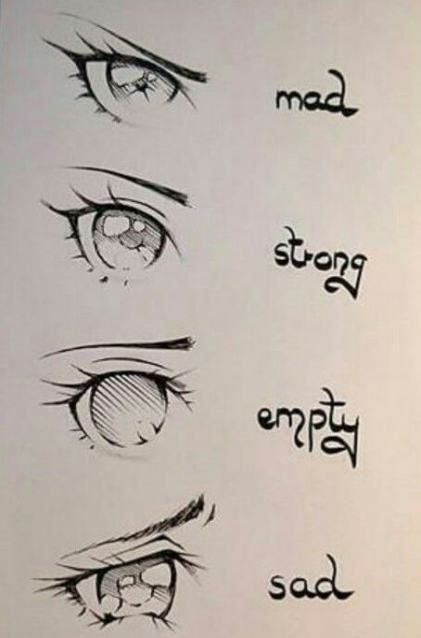 41 Ideas drawing reference manga anime eyes