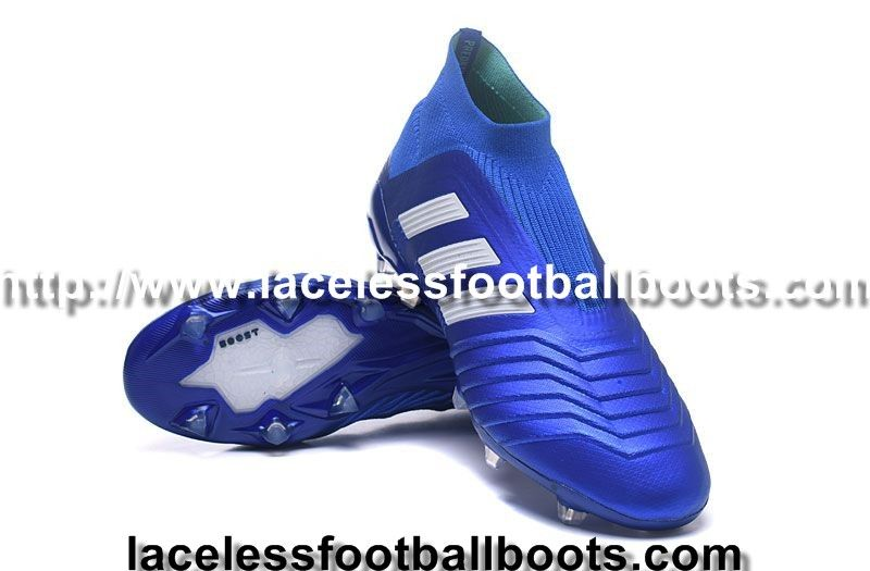 69aff2d50 New Adidas Kids Predator 18+ FG Laceless Football Boots Unity Ink Aero  Green Hi-Res Green Kids Adidas Predator 18+* Kids Football Boots*Adidas  Kids Football ...