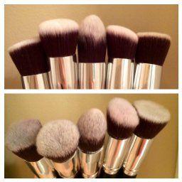 Bs Mall Tm Makeup Brushes Premium Makeup Brush Set Synthetic Kabuki Makeup Brush Set Cosmetics Foundation Blending Blush Eyel Powder Brush Cool Gadgets Makeup