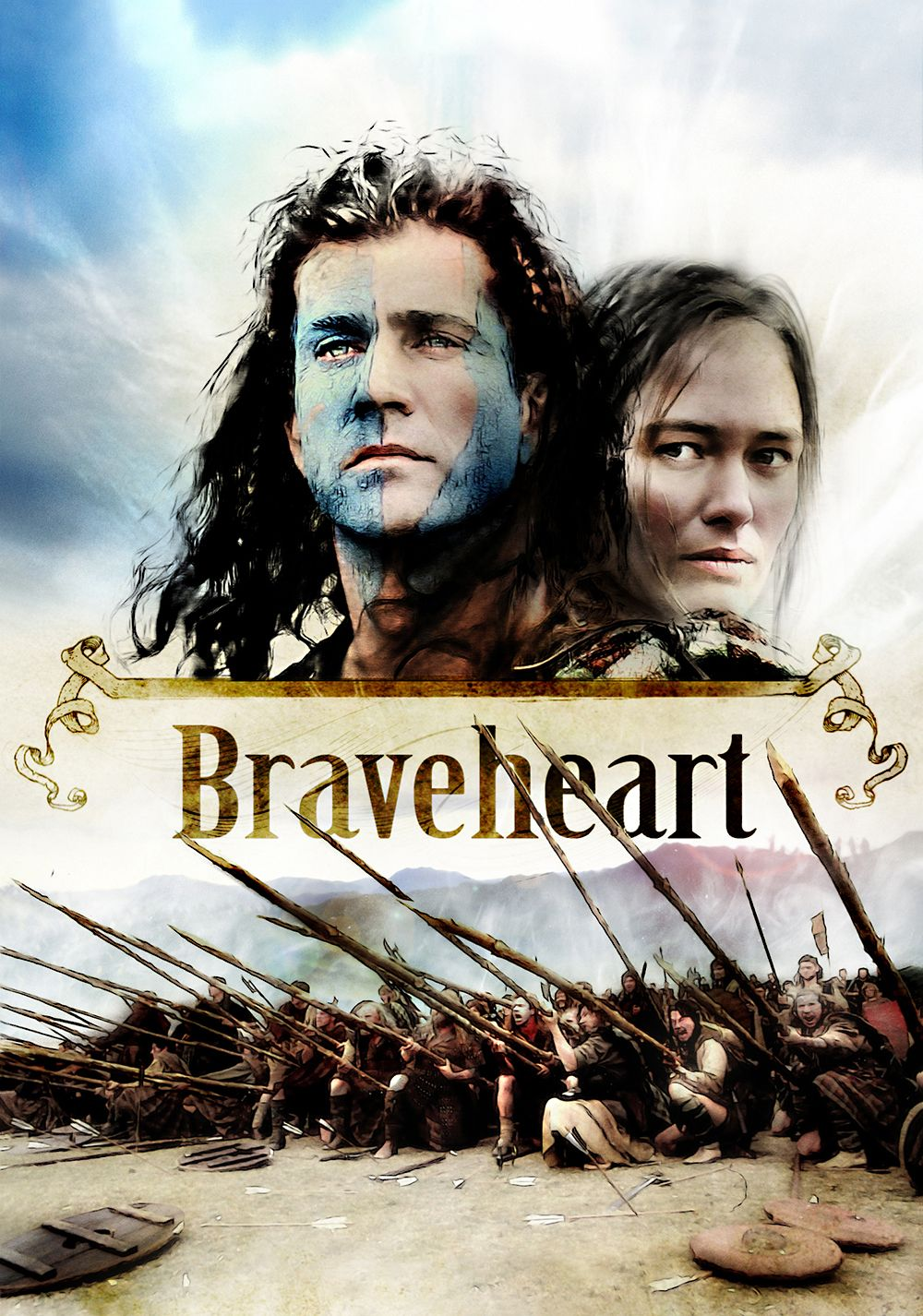 Braveheart 1995 Every Man Dies Not Every Man Really Lives Braveheart Historical Movies Normal Movie